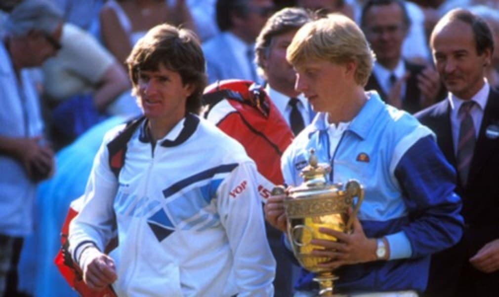 Enter our competition for your chance to win a replica of the jacket Boris Becker wore at Wimbledon in 1985