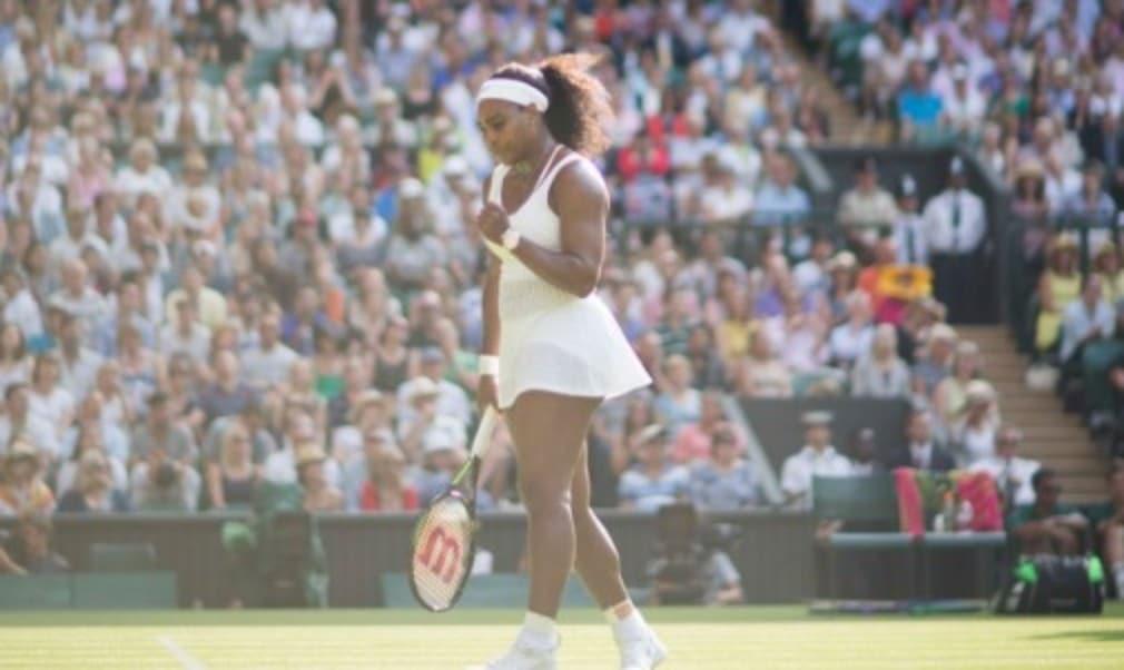 Serena Williams will meet Maria Sharapova in the Wimbledon semi-finals after the world No.1 dug deep to defeat Victoria Azarenka