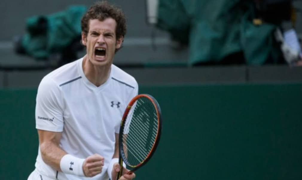 Andy Murray will face seven-time champion Roger Federer in the Wimbledon semi-finals after both players reached the last four with straight-sets wins on Wednesday