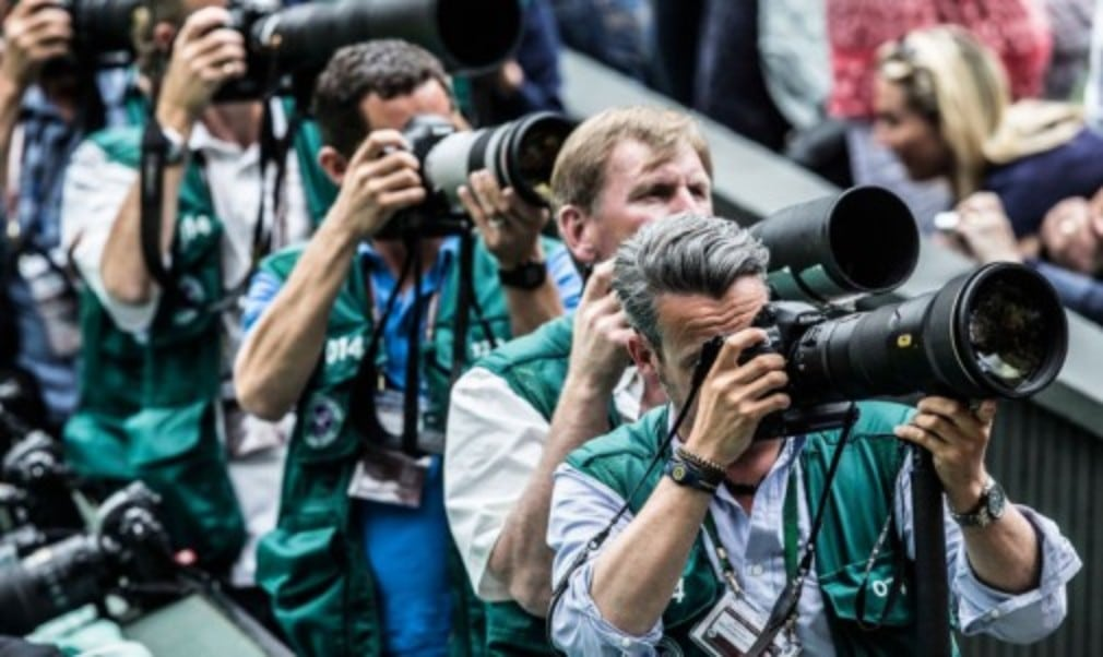 Tennishead photographer Mike Frey shares his experience of a typical day at Wimbledon