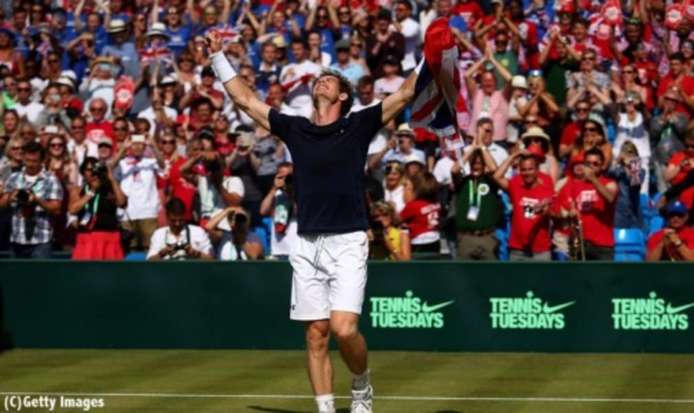 Andy Murray won three rubbers to lead Great Britain into a first Davis Cup semi-final in 34 years following a 3-1 victory over France