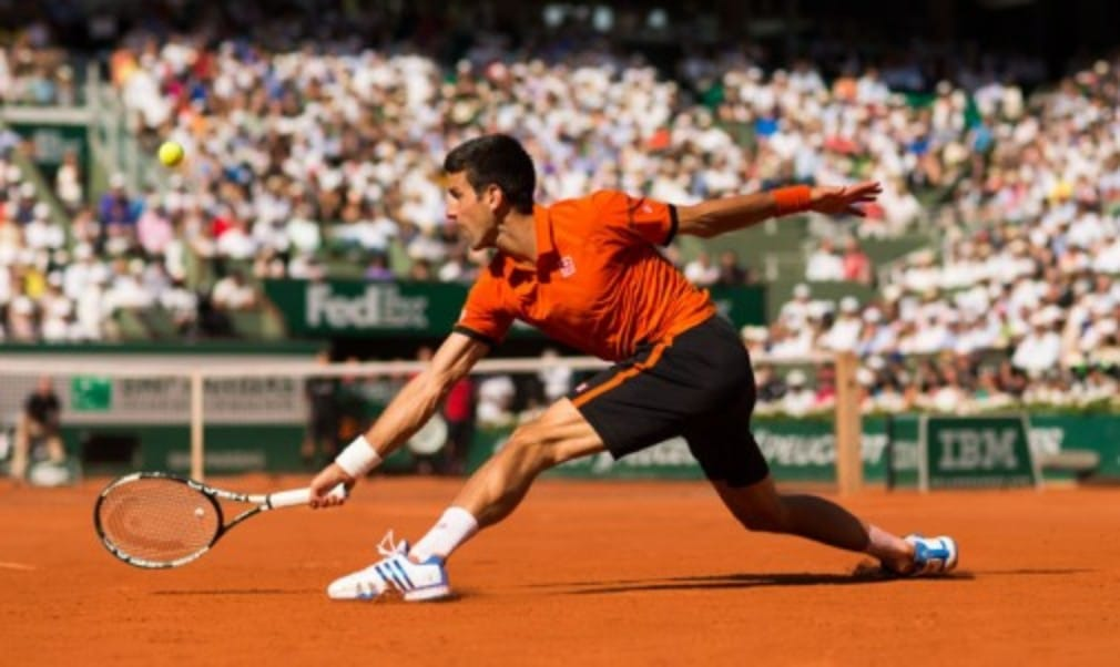 We can't guarantee you'll be able to move around the court like Novak Djokovic