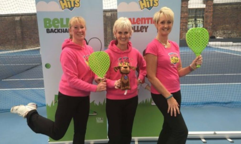 Judy Murray's campaign to get more girls playing tennis and more women into coaching met a milestone in June