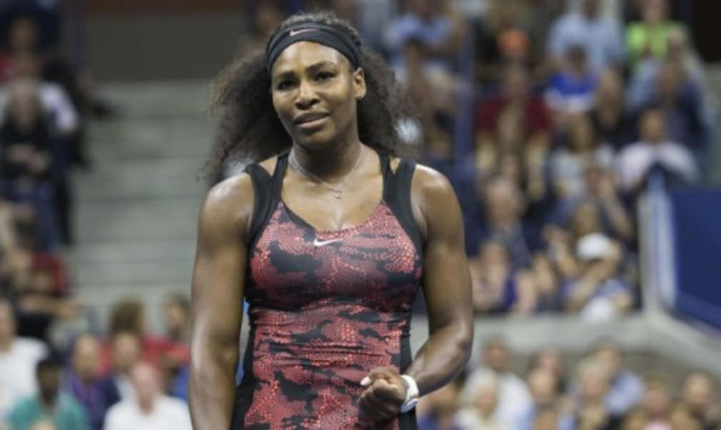 Rafael Nadal let a two-set lead slip at a Grand Slam for the first time in his career after Serena suffered an All-American scare on a night at the US Open with more drama than Broadway