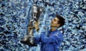 Novak Djokovic became the first man to win four consecutive Barclays ATP World Tour Finals titles with victory over Roger Federer in London