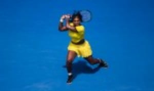Serena Williams remained on course for a seventh Australian Open title as she continued her dominance against Maria Sharapova with a 6-4 6-1 victory in the quarter-finals