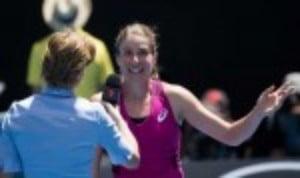 Jo Konta continued her sensational run at the Australian Open