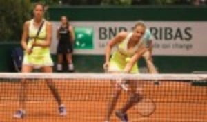 Twins Karolina and Kristyna Pliskova donŠ—Èt get to play doubles together often. But when they do
