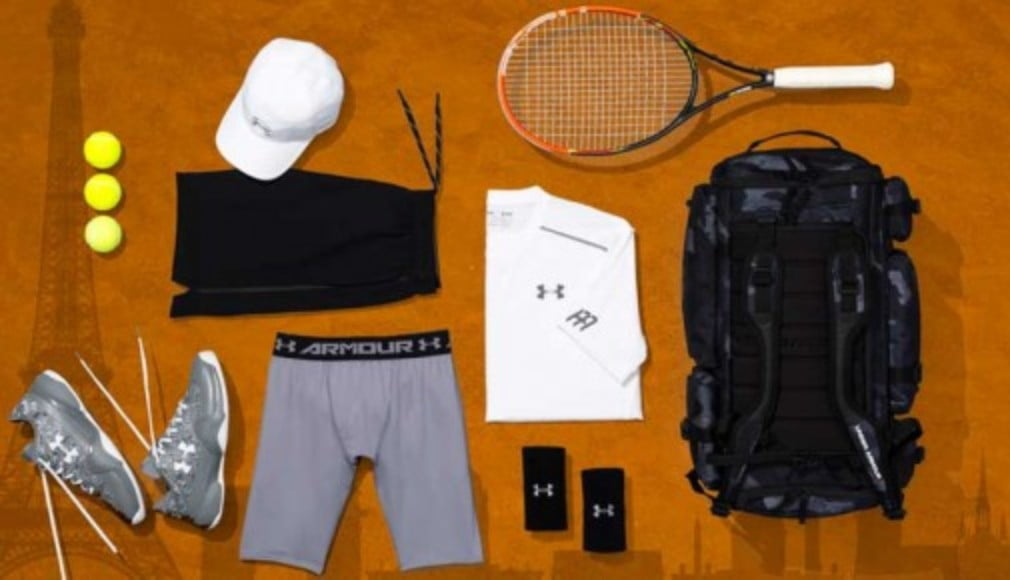 Andy Murray will be kitted out in black and white for the 2016 French Open
