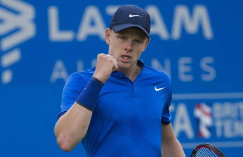 Kyle Edmund will climb up the rankings into the top 70 next week and the 21 year old has a bright tennis future