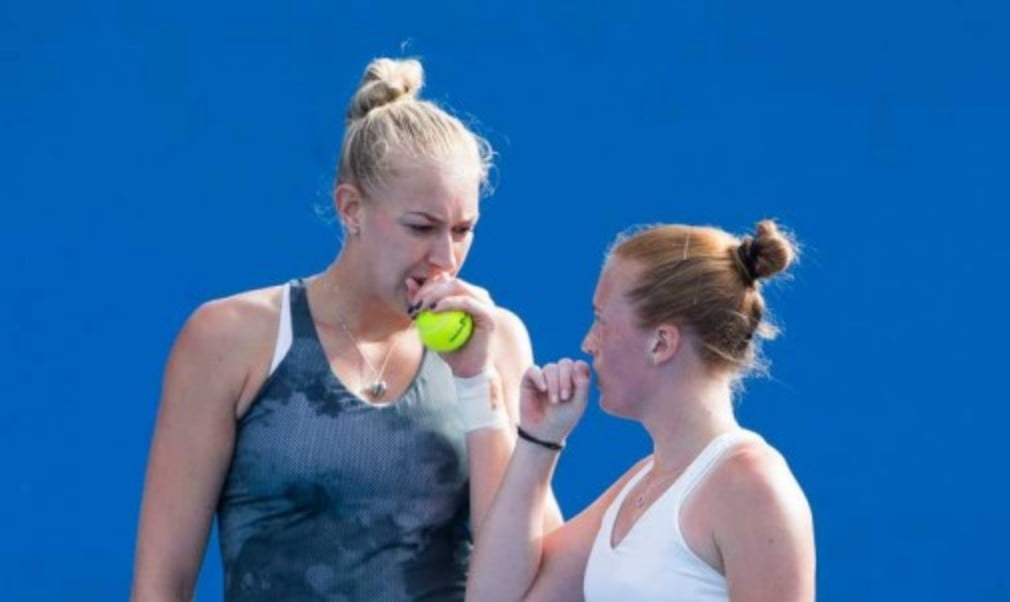 British Fed Cup doubles team Anna Smith and Jocelyn Rae give the lowdown on their kit