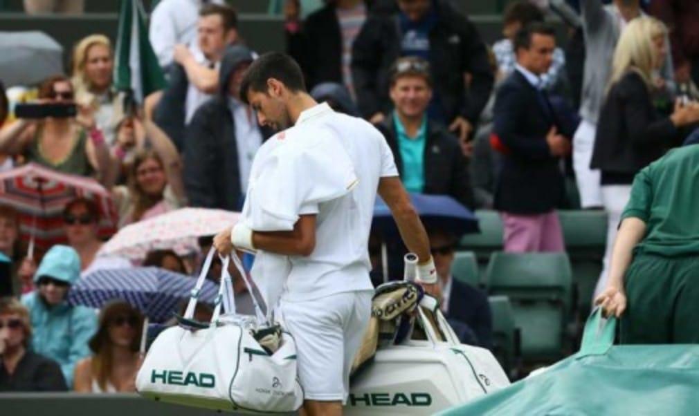 "Novak Djokovic says he will Š—""get away from tennisŠ— for a while following his shock third round defeat to Sam Querrey at Wimbledon"