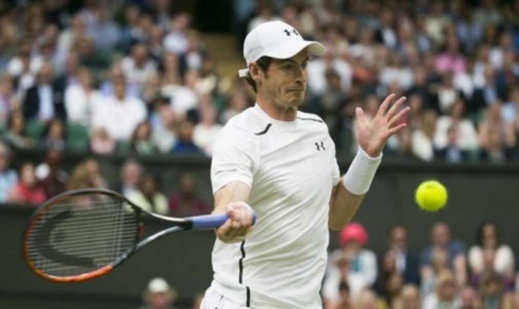 Andy Murray is refusing to look beyond his next match after reaching a ninth consecutive Wimbledon quarter-final