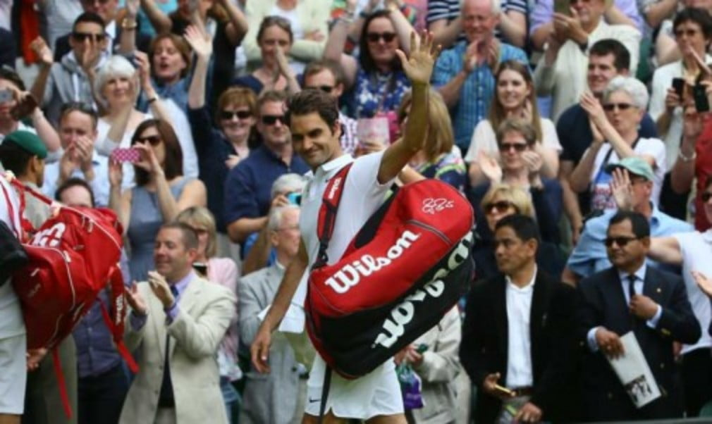 Seven-time Wimbledon champion Roger Federer vows to be back on Centre Court following his semi-final defeat to Milos Raonic