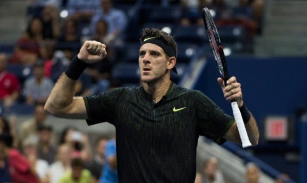 Juan Martin Del Potro is enjoying every moment of his return to New York