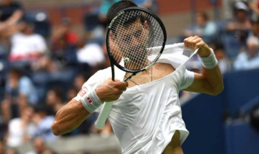 It was menŠ—Ès semifinals day in New York and Novak Djokovic defeated Gael Monfils 6-3 6-2 3-6 6-2 in an extraordinary match
