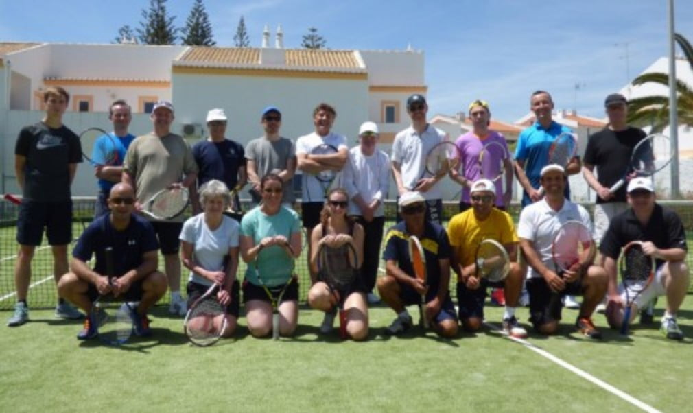 Head to Portugal for blue skies and social tennis with Jonathan Markson Tennis