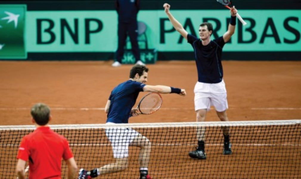 Jamie Murray will use all his experience to try to win the doubles rubber against Argentina