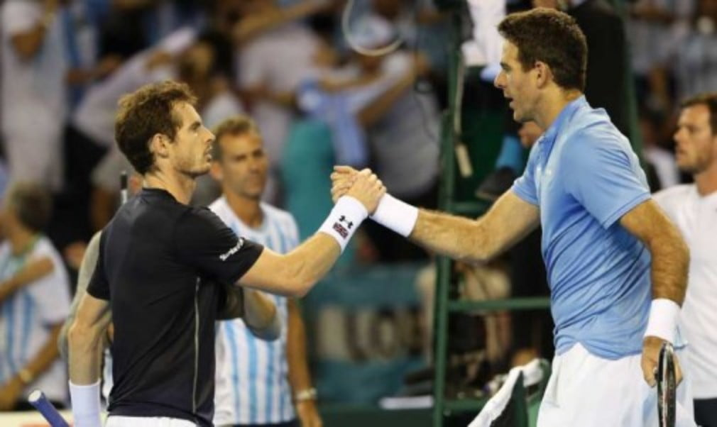 Argentina go into Saturday's doubles with a 2-0 lead