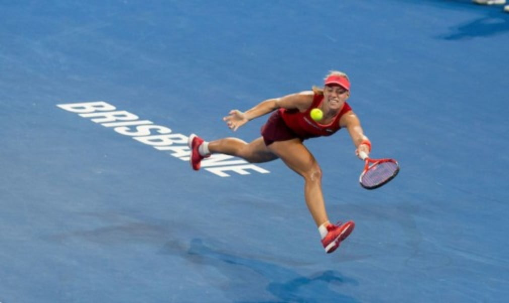 Angelique Kerber is embracing the maxim