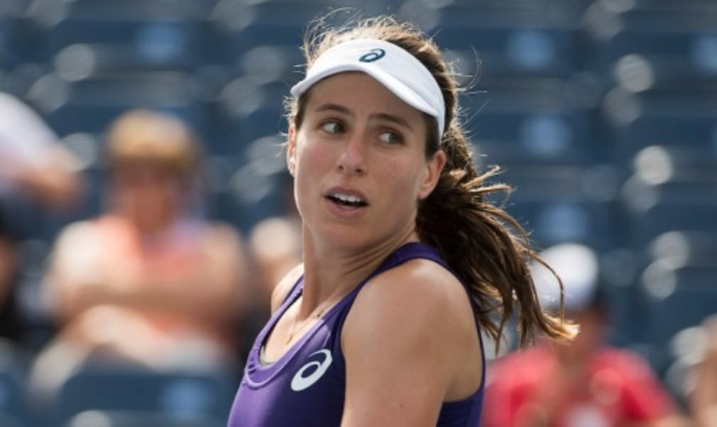 Johanna Konta narrowly missed out on a place in the WTA Finals