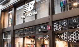 Heather Watson attended the official opening of the New Balance store on LondonŠ—Ès Oxford Street