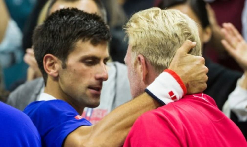 Novak Djokovic has parted company with coach Boris Becker after three years together