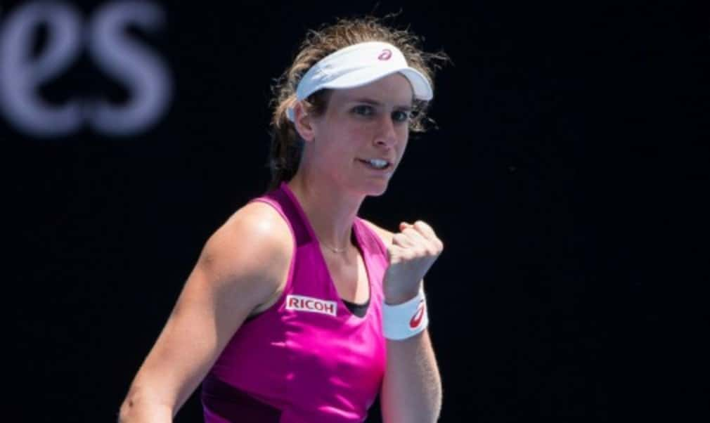 Johanna Konta will arrive in Melbourne in title-winning form after beating Agnieszka Radwanska to win the Sydney International