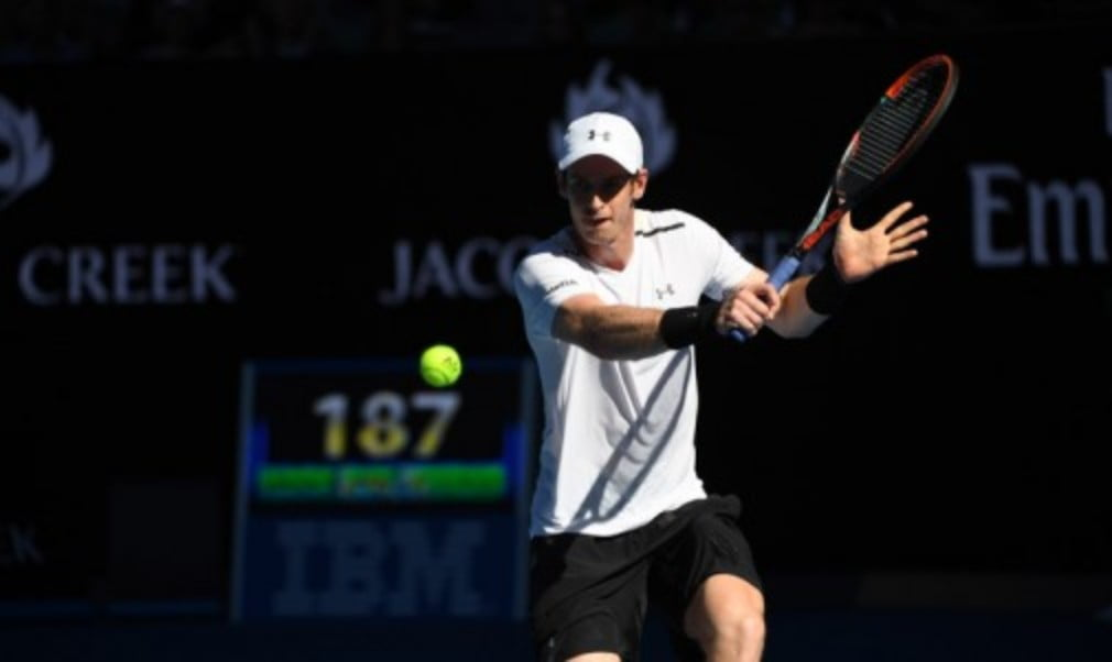 Andy Murray did enough to get through to the second round at the Australian Open on Monday