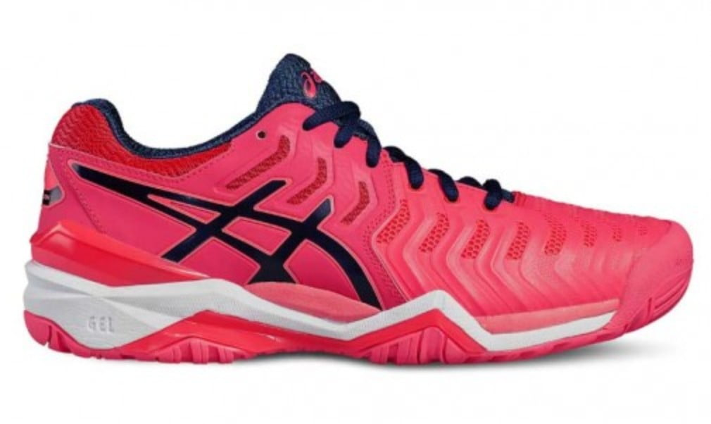The ASICS Gel Resolution 7  is the perfect shoe for baseliners  looking for stability and cushioning