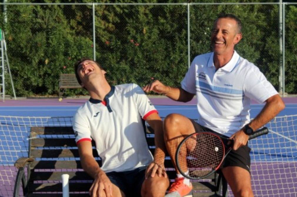 Samuel Lopez is co-founder of the JC Ferrero-Equelite Academy in Spain and the current coach of world No.19 Pablo Carreno-Busta
