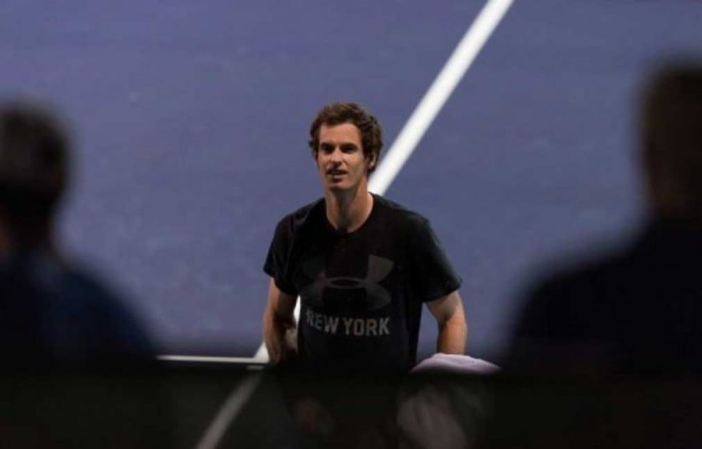 Like a number of other leading men Andy Murray is playing doubles at the BNP Paribas Open in Indian Wells