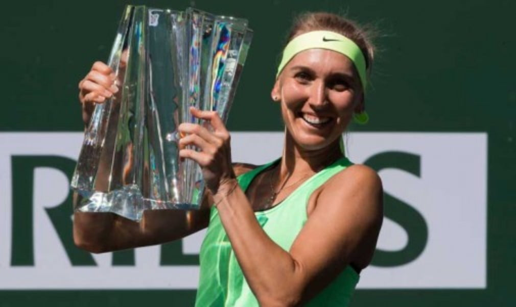 Elena Vesnina won the biggest title of her career