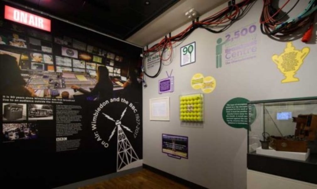 Wimbledon Museum unveils new exhibition celebrating 90 years of broadcasting at The Championships