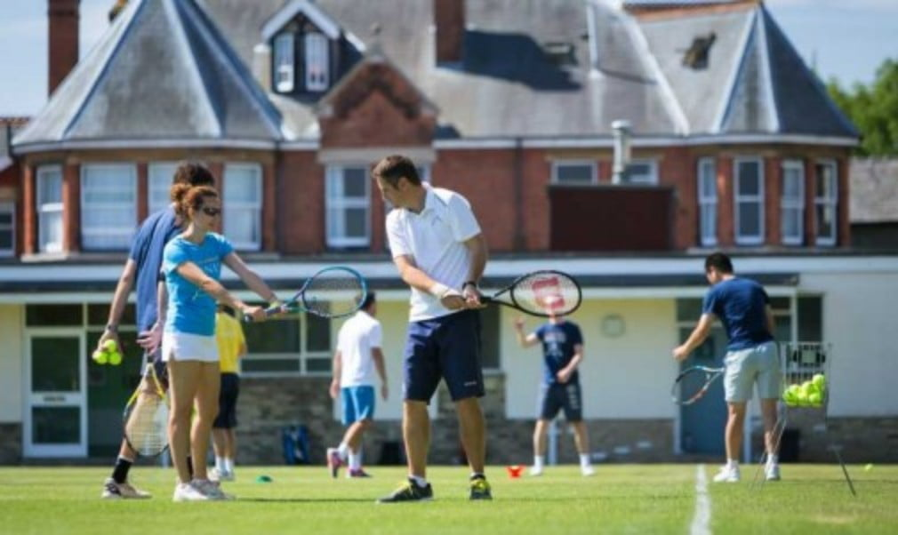 Win a week's coaching on the prestigious grass courts at Cambridge University