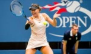 After the euphoria of her dramatic triumph over Simona Halep on the opening night of the US Open