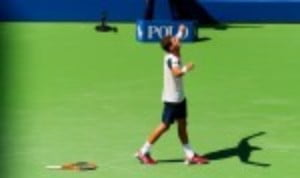 Pablo Carreno Busta is the first player through to the semi-finals of the US Open after a convincing 6-4 6-4 6-2 win over Diego Schwartzman