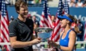 Jamie Murray and Martina Hingis are the 2017 US Open mixed-doubles champions