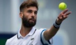 Benoit PaireŠ—Ès hopes of winning a second career title are still alive after he reached the semi-finals of the Moselle Open in Metz