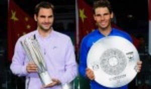 Roger Federer delivered a performance of outstanding quality as he romped to a 6-4 6-3 success over Rafael Nadal in the final of the Rolex Shanghai Masters