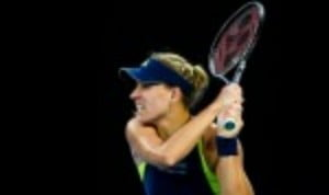 Angelique Kerber recovered from a slow start to defeat Johanna Konta 1-6 6-1 6-3 and reach the quarter-finals of the Qatar Open