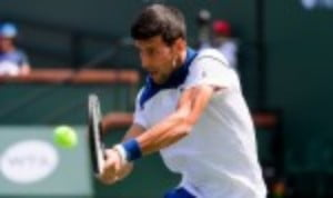 Novak DjokovicŠ—Ès latest comeback from elbow trouble suffered an unexpected blow as he was bundled out of the BNP Paribas Open by Taro Daniel at the second round stage