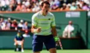 Milos Raonic has not had much to smile about recently