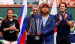 Naomi Osaka ended her breakthrough tournament with the silverware she craved and deserved