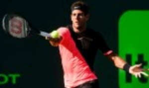 Juan Martin del Potro is just three wins away from becoming the eighth man to complete the Sunshine Double