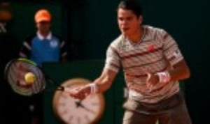 Milos Raonic scored his first Top 10 victory since January 2017 by toppling Grigor Dimitrov 7-5 3-6 6-3 at the second round stage of the Mutua Madrid Open