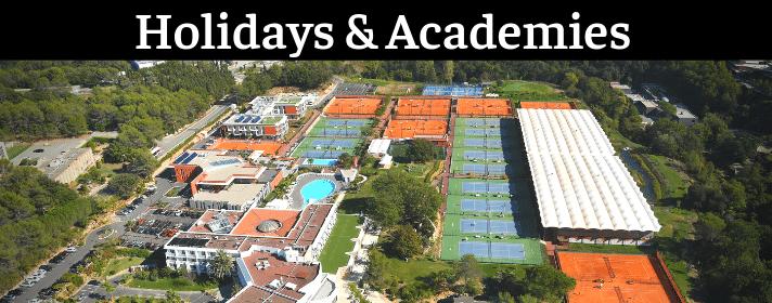 Holidays academies wide