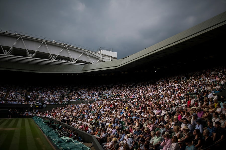 Wimbledon 2019 new roof on court 1