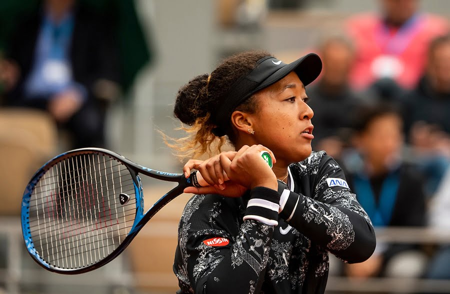 Naomi Osaka - earned the backing of Roger Federer