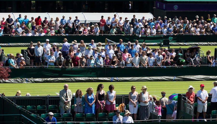 Wimbledon crowds